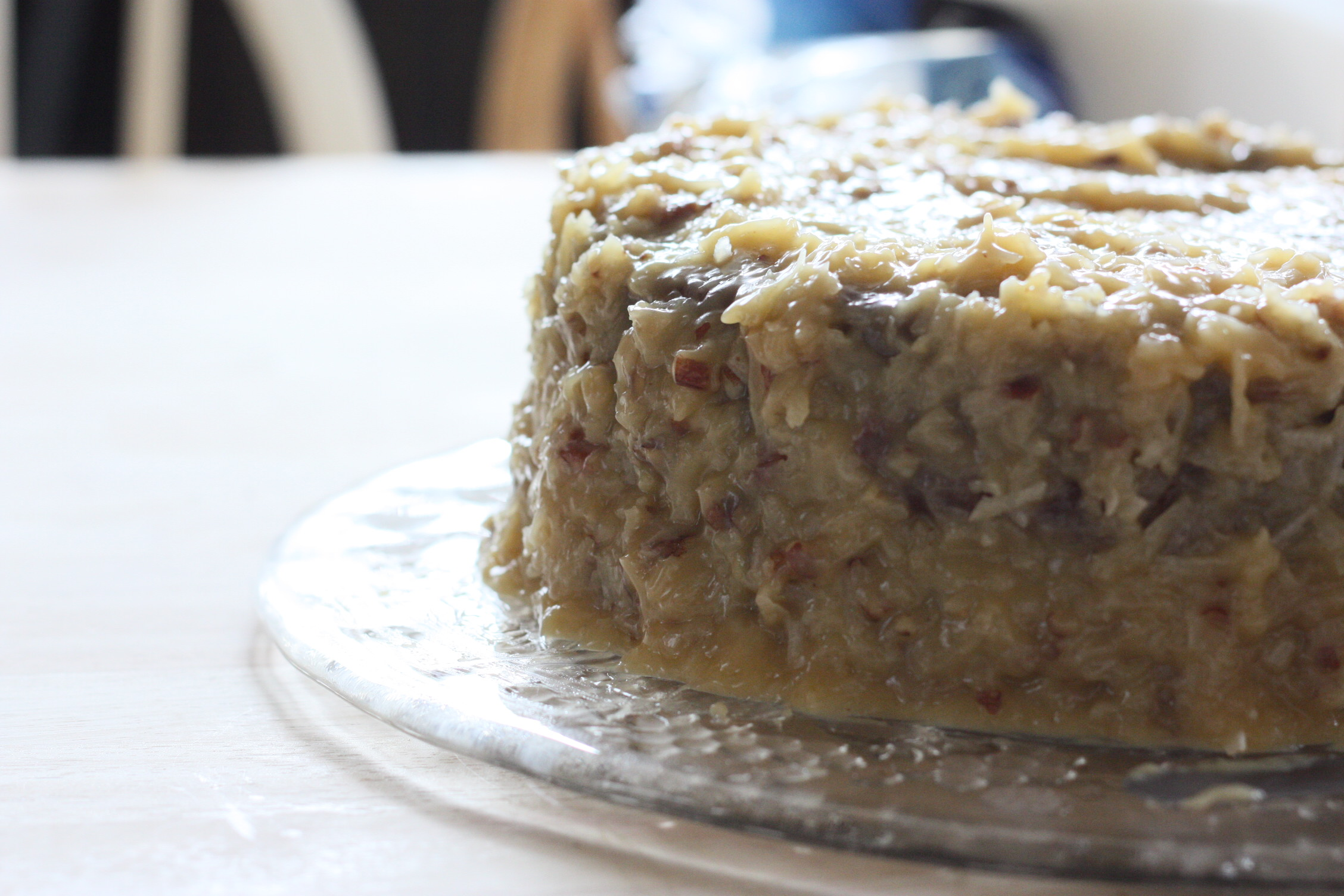 Gluten Free German Chocolate Cake