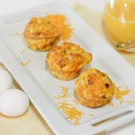 Bacon and Cheddar Frittata Cups