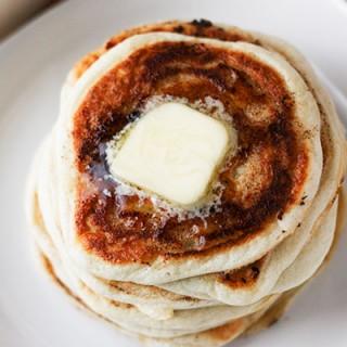 GF Cinnamon Pancakes