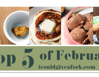 Top 5 Recipes of February 2015