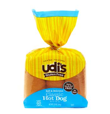 Udi's Gluten Free Hotdog Buns