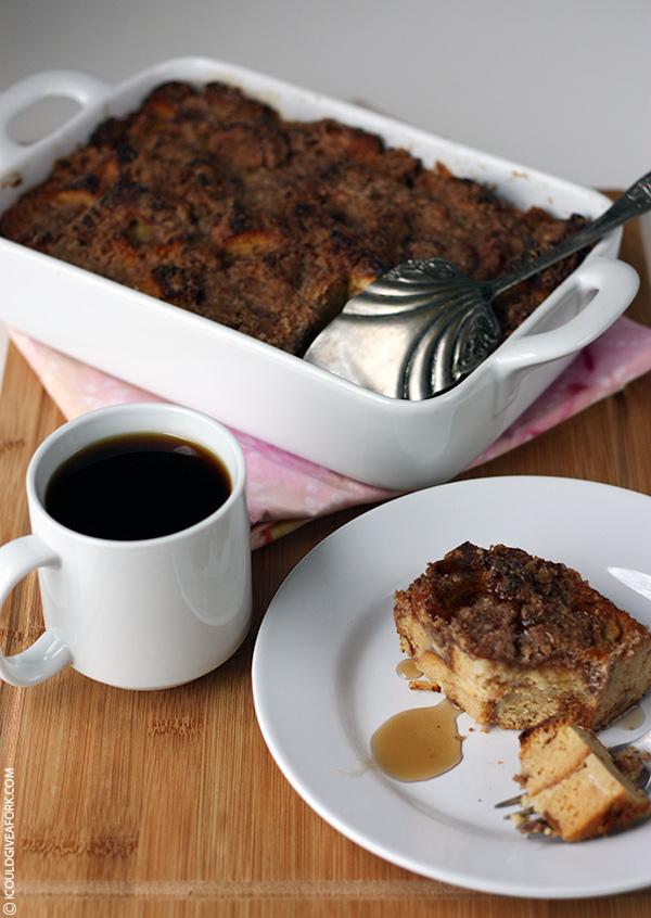 Gluten Free Baked Cinnamon French Toast