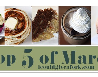 Top 5 Recipes of March 2015