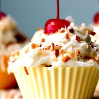 Gluten Free PIna Colada Cupcakes Recipe