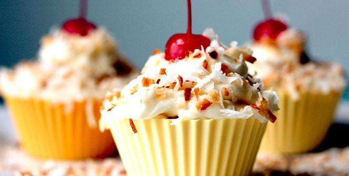 Gluten Free Piña Colada Cupcakes Recipe